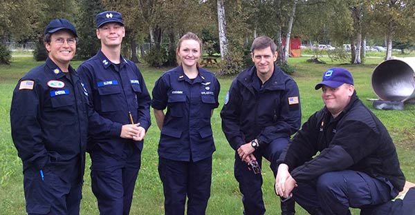Alaska Wing Members Finish NASAR Search Training