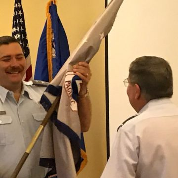 Pacific Region Change of Command