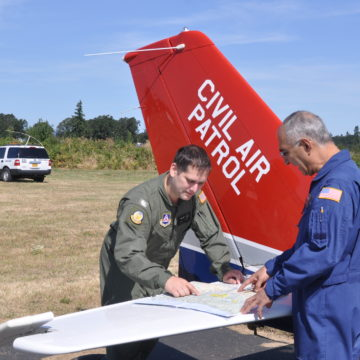 Oregon Wing Civil Air Patrol Assists in Eclipse Traffic Monitoring